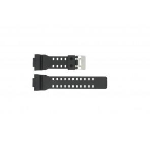 Casio horlogeband G-8900-1 / GA-100-1 / GA-110 / GA-110MB  Kunststof / Plastic Zwart 16mm