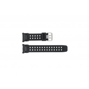 Casio horlogeband G-9000-1  Silicoon Zwart 27mm