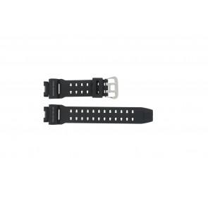 Casio horlogeband G9200-1 Rubber Zwart 16mm