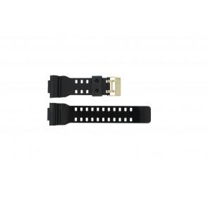 Casio horlogeband A-110GB-1A Rubber Zwart 16mm