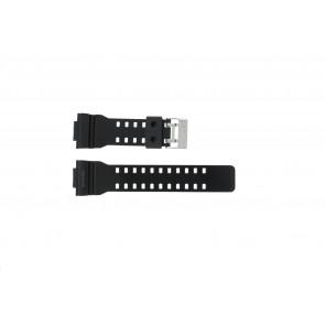 Casio horlogeband GLS-8900-1W Rubber Zwart 16mm