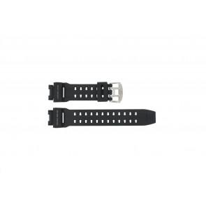 Casio horlogeband GW-9110-1D / 10360284 Rubber Zwart 16mm