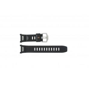 Casio horlogeband PAW-1500-1VV / 10290989 Rubber Zwart 16mm