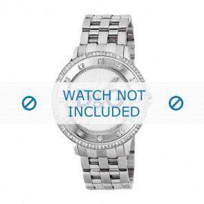 Dolce & Gabbana horlogeband DW0133 Staal Zilver