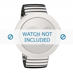 Dolce & Gabbana horlogeband DW0280 Staal Zilver