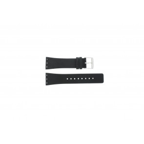 Danish Design horlogeband IV13Q641 / IV12Q641 / IV12Q767 / IV13Q767 Leder Zwart 23mm