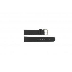 Danish Design horlogeband IQ13Q672 / IQ12Q993 / DDBL20 Leder Zwart 20mm