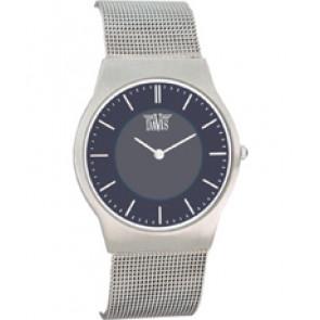 Horlogeband Davis 9800 / BB980018 Staal Staal