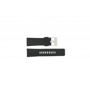 Horlogeband Diesel DZ1207 Leder Zwart 26mm
