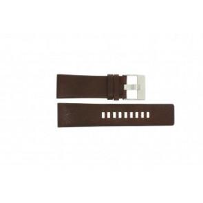 Diesel horlogeband DZ-1118 Leder Bruin 26mm