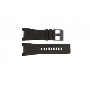 Diesel horlogeband DZ-1216 Leder Bruin 32mm