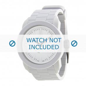 Diesel horlogeband DZ1436 / DZ1439 / DZ1437 / DZ1438 Silicoon Wit 24mm
