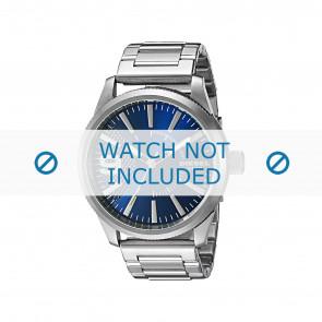 Diesel horlogeband DZ1763 Staal Zilver 24mm