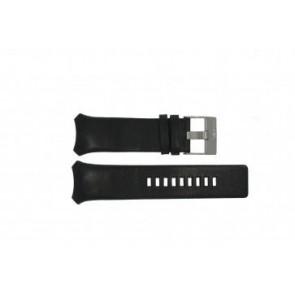 Diesel horlogeband DZ-3034 / DZ-3035 Leder Zwart 31mm