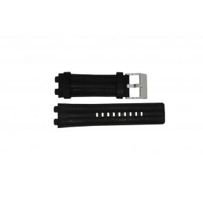 Horlogeband Diesel DZ4118 / DZ4119 Leder Zwart 24mm