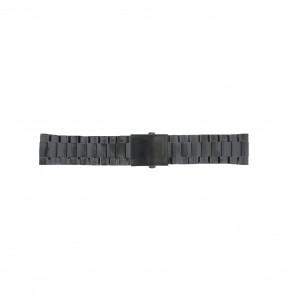 Horlogeband Diesel DZ4318 Staal Zwart 26mm