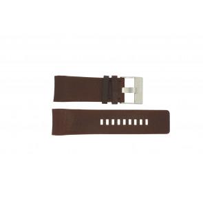 Diesel horlogeband DZ4029 Leder Bruin 28mm