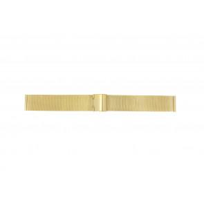 Horlogeband Universeel MESH-DOUBLE-18MM Staal Doublé 18mm