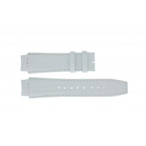 Horlogeband Dolce & Gabbana DW0257 Leder Wit 18mm