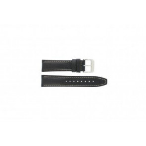Festina horlogeband F16081-7 Leder Zwart 22mm