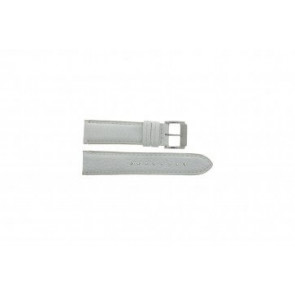 Festina horlogeband F16101/B Leder Wit 22mm