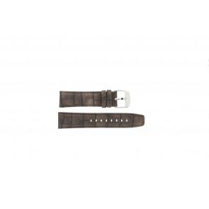 Festina horlogeband F16573/4 Leder Bruin 23mm + bruin stiksel