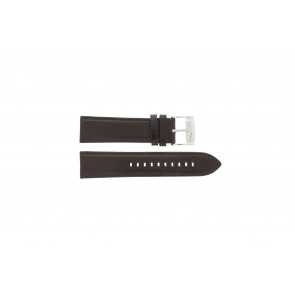 Fossil horlogeband ME-1020 Leder Bruin 24mm