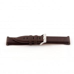 Echt lederen horloge band bruin 22mm EX-G119