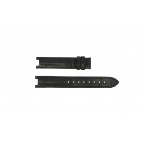Guess horlogeband GC24001L2 / GC15000 Leder Zwart 16mm