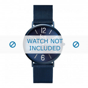 Ice Watch horlogeband 012712 / 012713 Staal Blauw 20mm