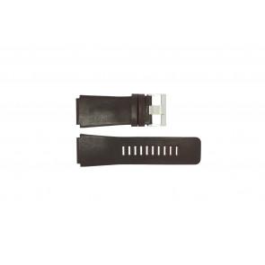 Horlogeband Fossil JR9121 Leder Bruin 26mm