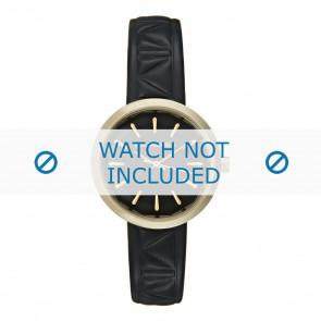 Karl Lagerfeld horlogeband KL1610 Leder Zwart