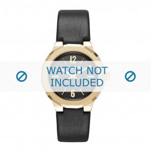 Karl Lagerfeld horlogeband KL3410 Leder Zwart