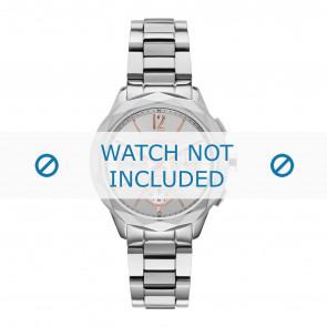 Karl Lagerfeld horlogeband KL4005 Staal Zilver