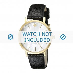 Kate Spade New York horlogeband 1YRU0010 / MINI METRO Leder Zwart