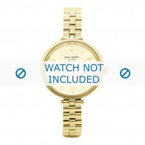 Kate Spade New York horlogeband 1YRU0858 / Holland Staal Doublé