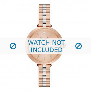 Kate Spade New York horlogeband 1YRU0860 / Holland Staal Multicolor