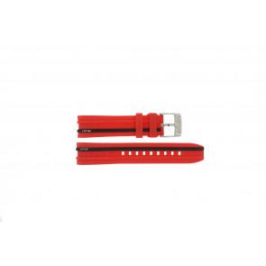 Lotus horlogeband 15881/2 Rubber Rood 22mm