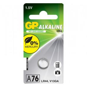 GP A76 - LR44 - V13GA 1,5V alkaline 11.6 mm x 5.4 mm alkaline batterij knoopcel