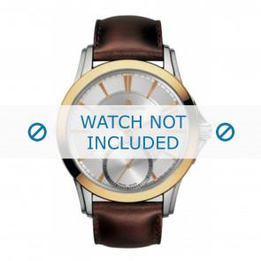 Maurice Lacroix horlogeband  PT7518-PS101-130 Leder Bruin + bruin stiksel