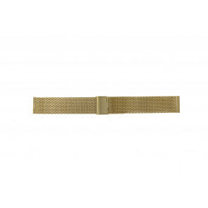 Other brand horlogeband MESH24DBL Staal Goud 24mm