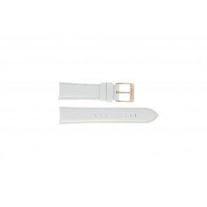 Michael Kors horlogeband MK-2289 Leder Wit 22mm