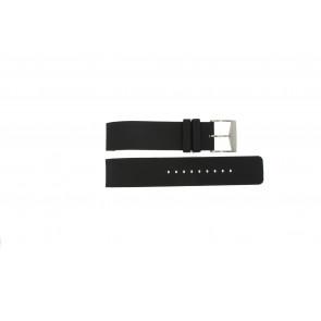 Michael Kors horlogeband MK8040 / MK8055 Rubber Zwart 22mm