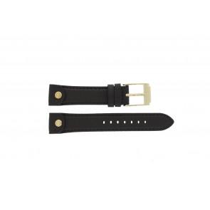Michael Kors horlogeband MK-2166 Leder Bruin 18mm