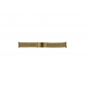 Morellato horlogeband  Staal Goud (Doublé) 22mm