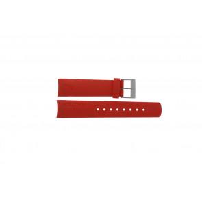 Nautica horlogeband A18639G / A09902 / A37508G / N19524 / A13548G / A36003 / A13015 / N14611G Rubber Rood 22mm