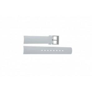 Nautica horlogeband A31504G / A30005G / A16586G Rubber Wit 22mm