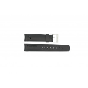 Nautica horlogeband 31503G / N18523G / 31506G / A19527 / N17526 / A36002 / A13011 Rubber Zwart 22mm