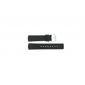 Danish Design horlogeband IV12Q884 Leder Zwart 14mm