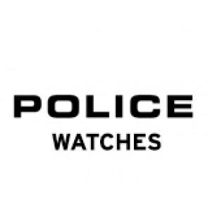 Police horlogeband PL-14385J Leder Zwart